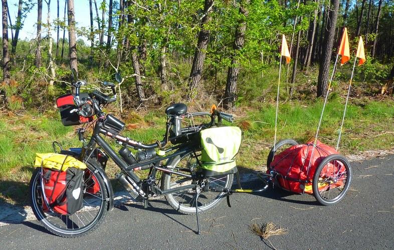 poids cycliste que supporte les roues de vélo